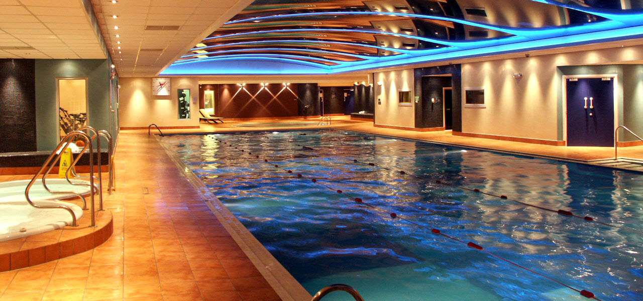 Swimming Pool in Fitness Club